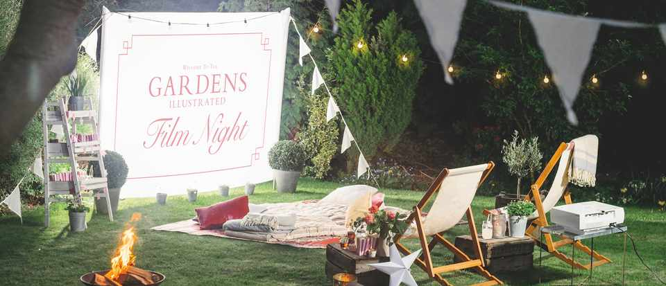 Outdoor cinema: How to make an outdoor cinema in your garden
