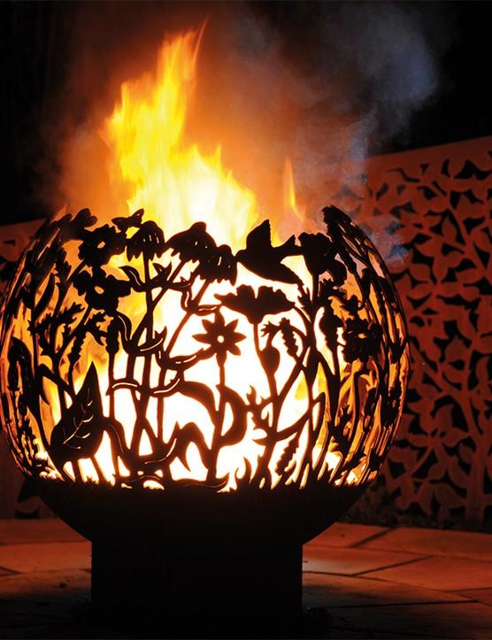 Wildflower Firepit Sphere