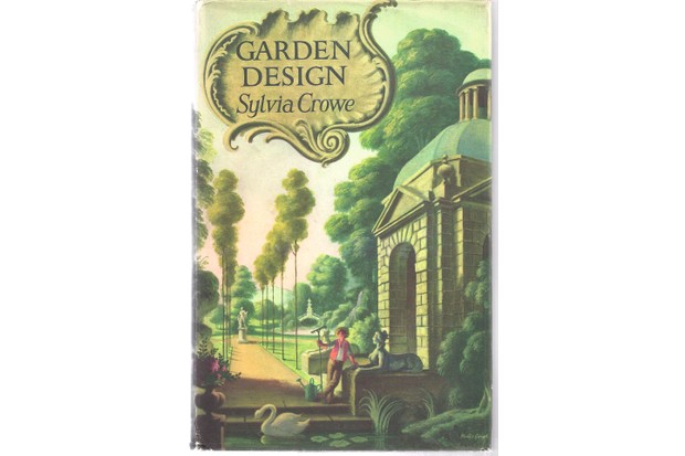 cover of Garden Design book by author Sylvia Crowe