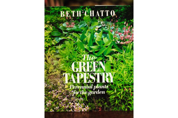 Cover of the book 'The Green Tapestry: Perennial plants for the garden' by Beth Chatto