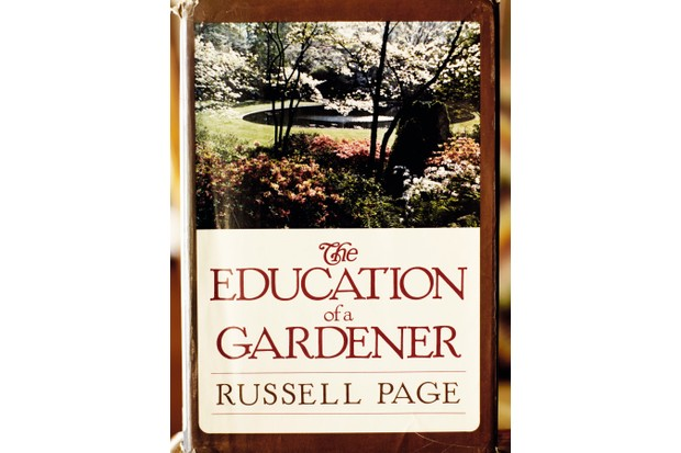The book 'The Education of a Gardener' by Russell Page published in 1962