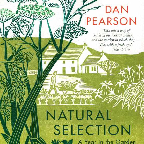 A book cover of 'Natural Selection' by Dan Pearson