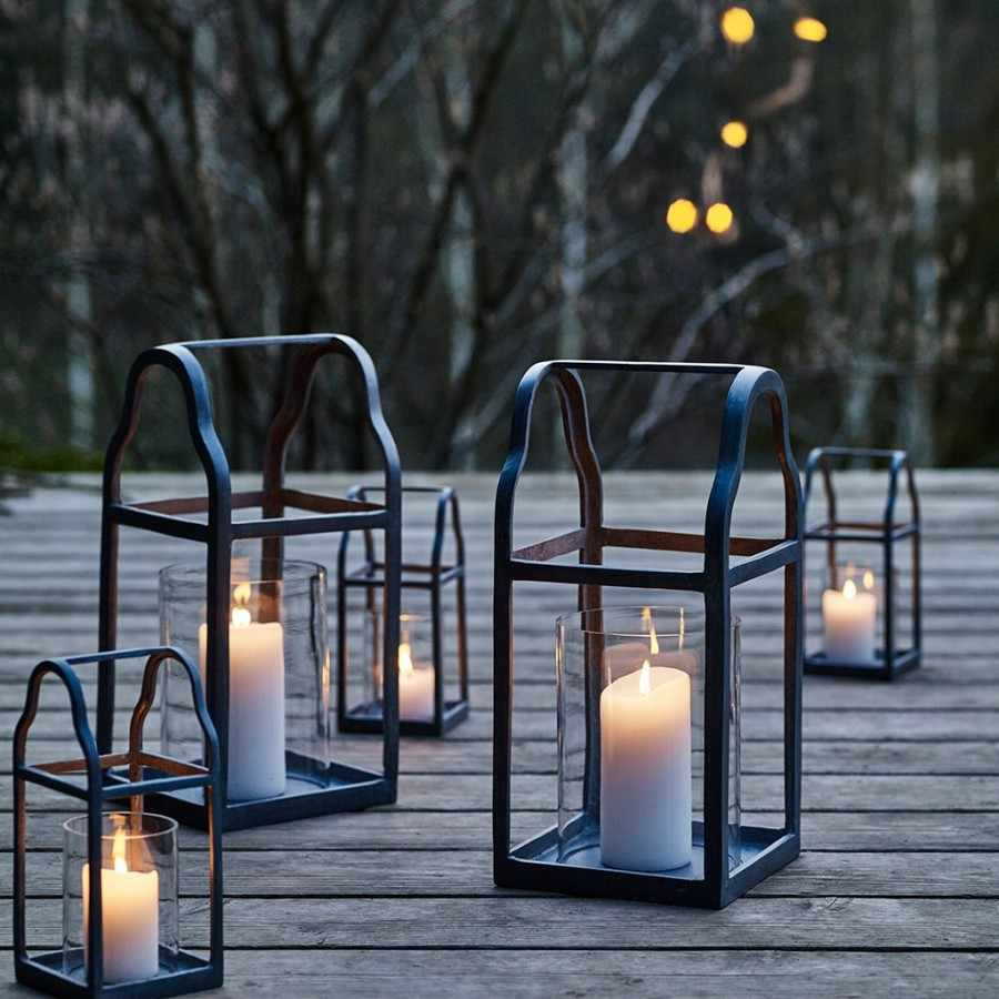 Zinc lantern