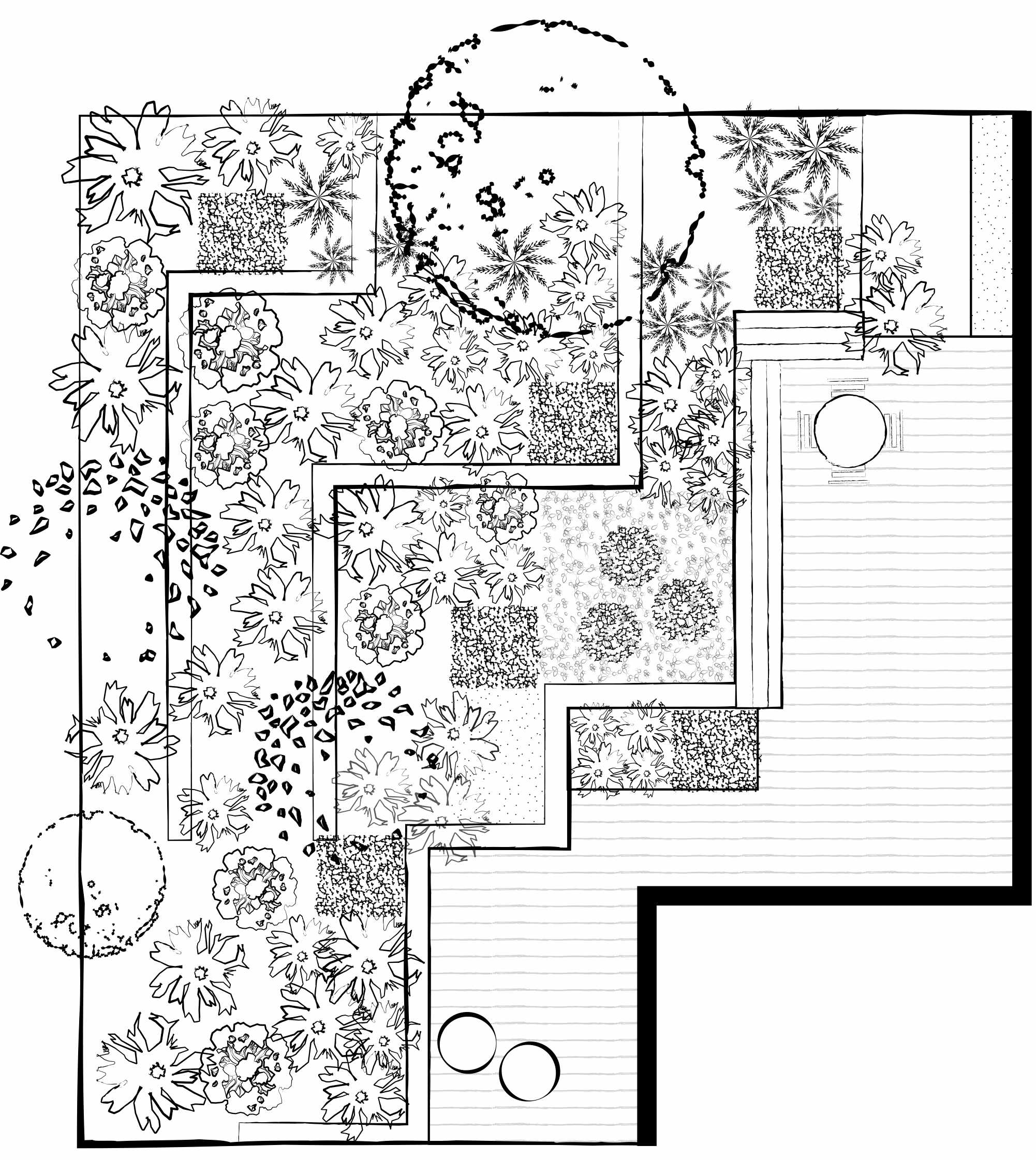 Declan Buckley small garden plan