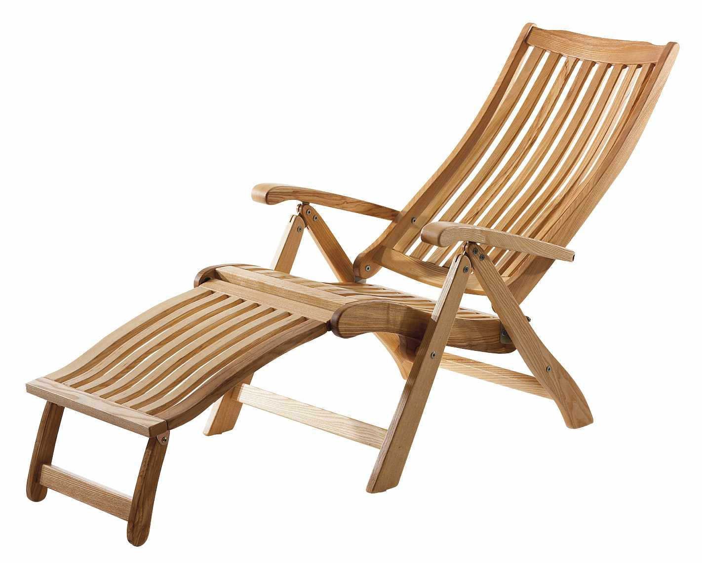 Ash Wood Deckchair