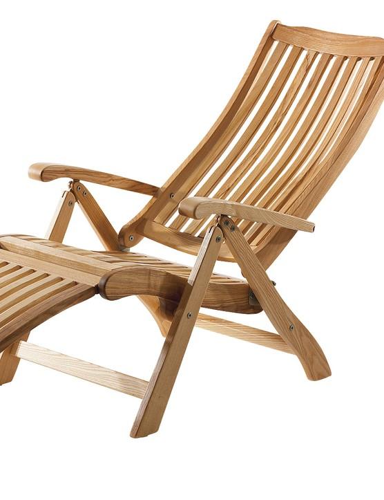 Ash Wood Deckchair