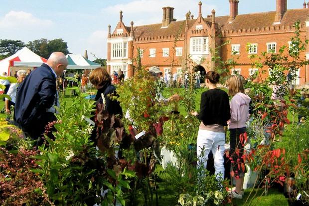 Helmingham Hall autumn plant fair