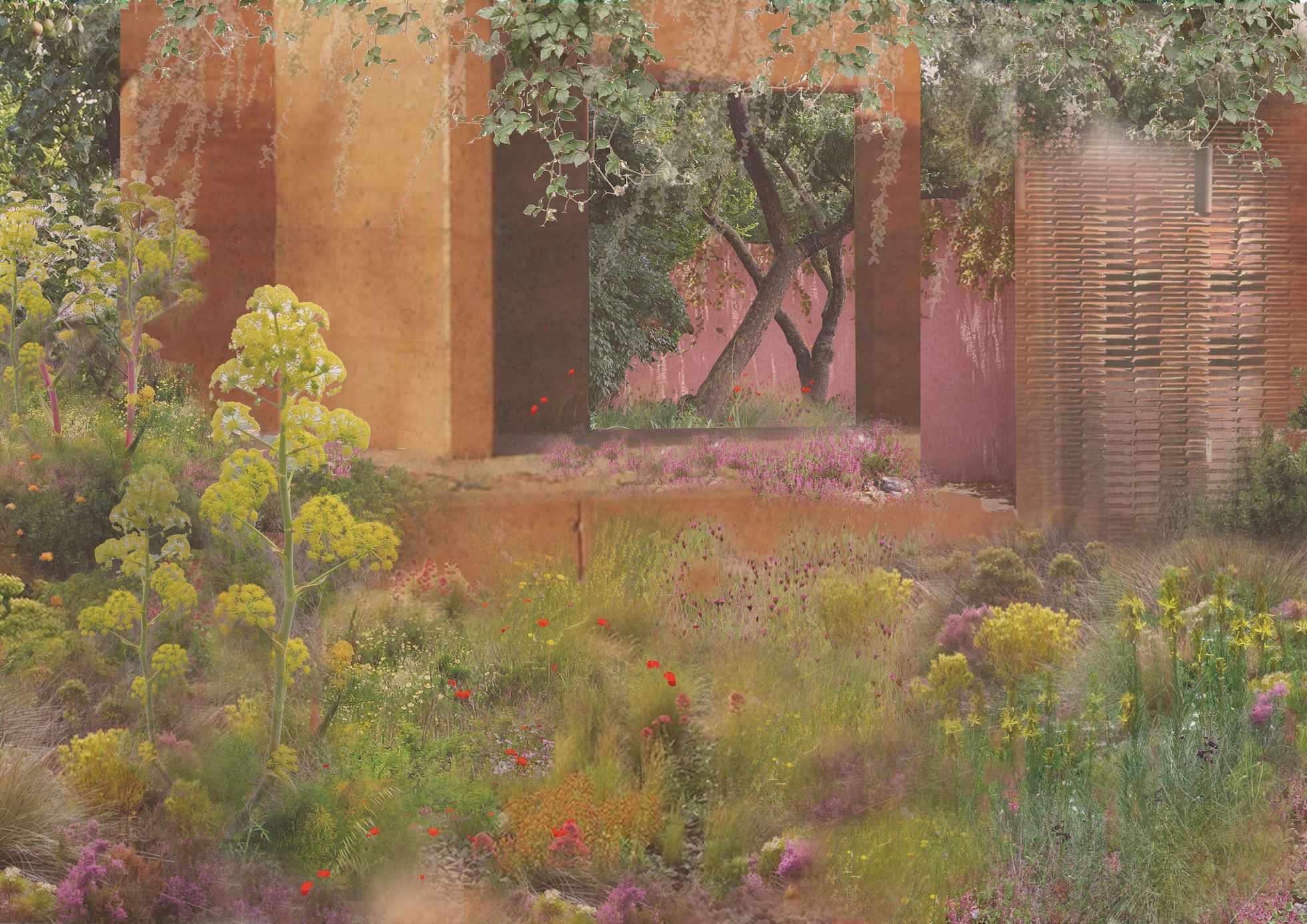 Sarah Price M&G garden
