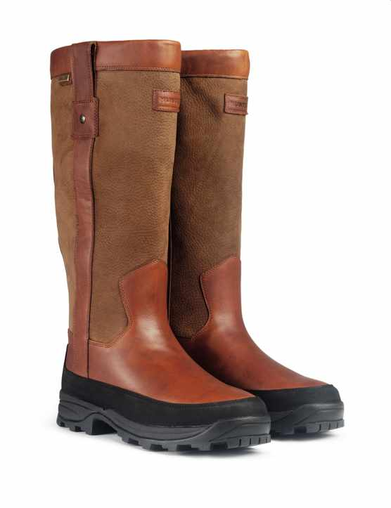 LEATHER WELLIES WITH MUD BARRIER
