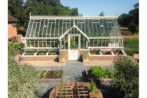 Stupendous 9 Stylish Greenhouses With Porches Gardens Illustrated Interior Design Ideas Gresisoteloinfo