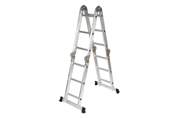 B&Q Aluminium 2-Way Combination Ladder, (H)3.23M, £82, B&Q