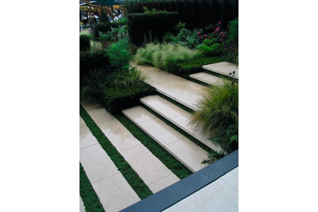 Design Solutions Coping With Slopes Gardens Illustrated
