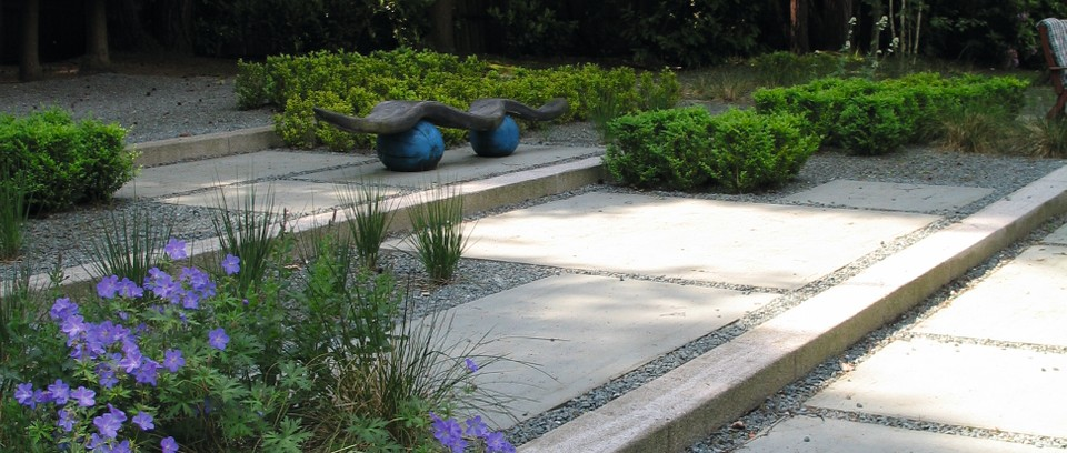 Garden Steps And Ramps Coping With A Sloping Garden Gardens