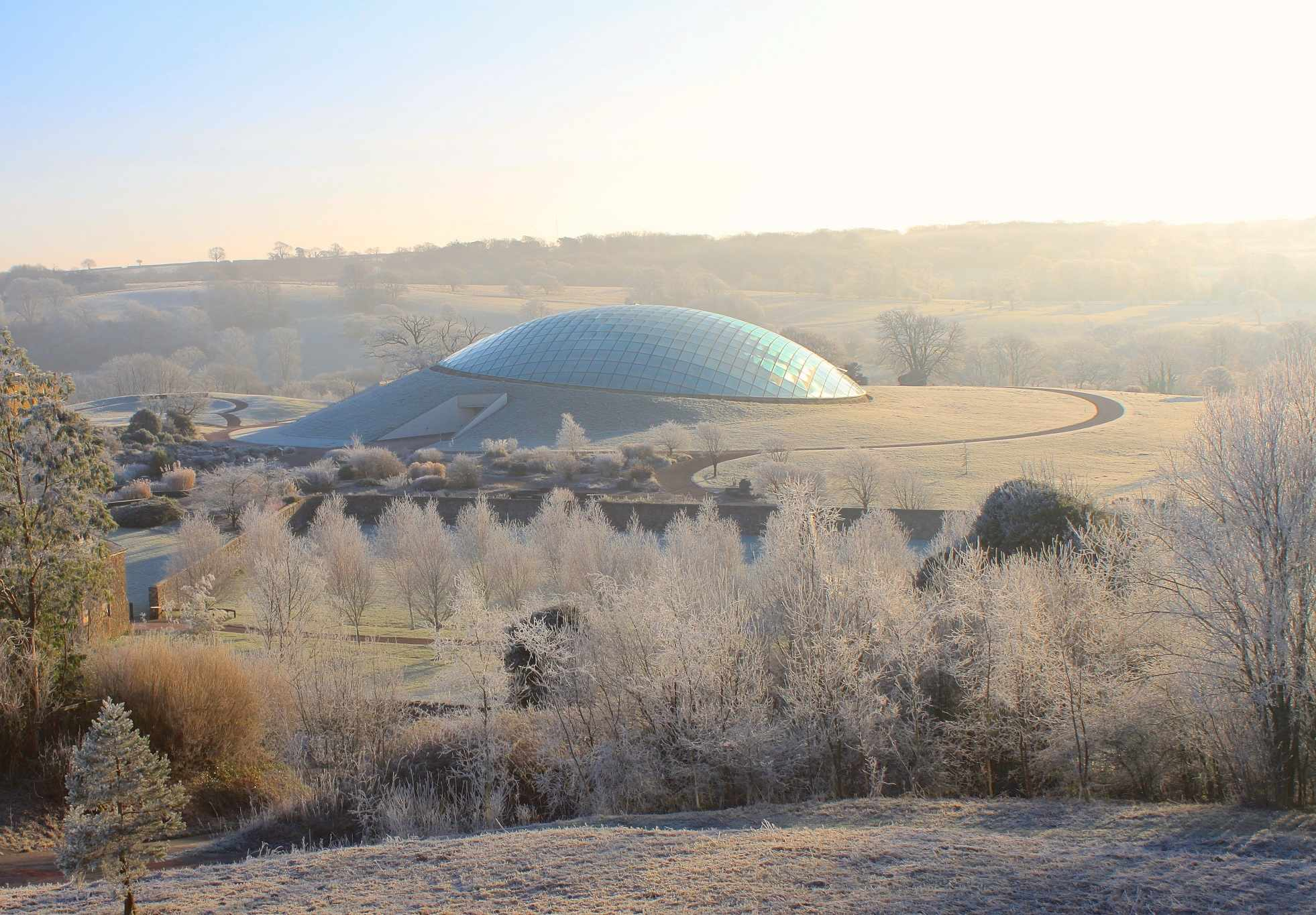 Botanic garden of wales winter