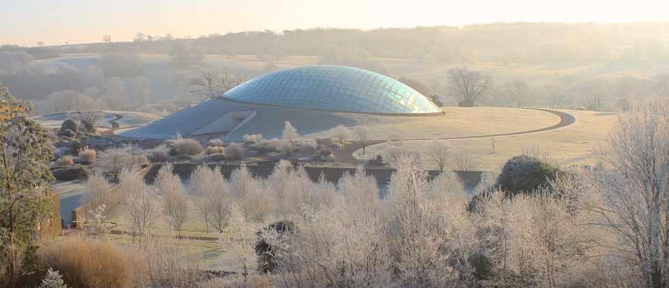 Botanic garden of wales winter