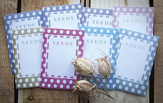photo relating to Printable Seed Packets called Obtain our Do it yourself seed packet templates - Gardens Illustrated