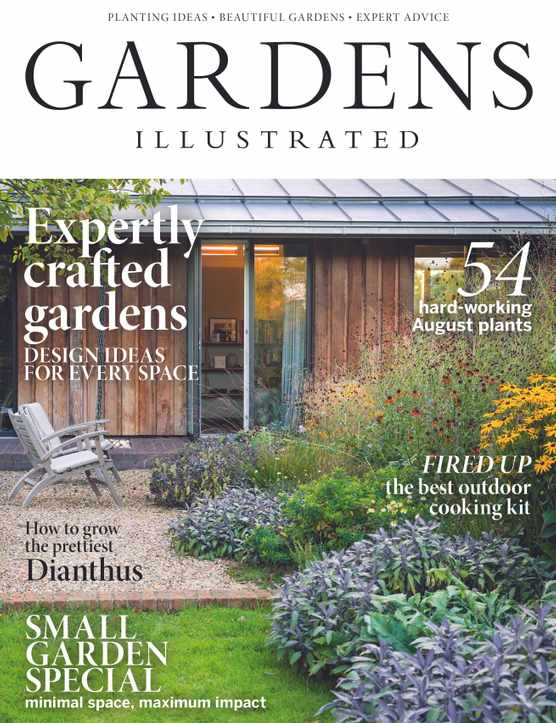 Gardens Illustrated August 2018 cover