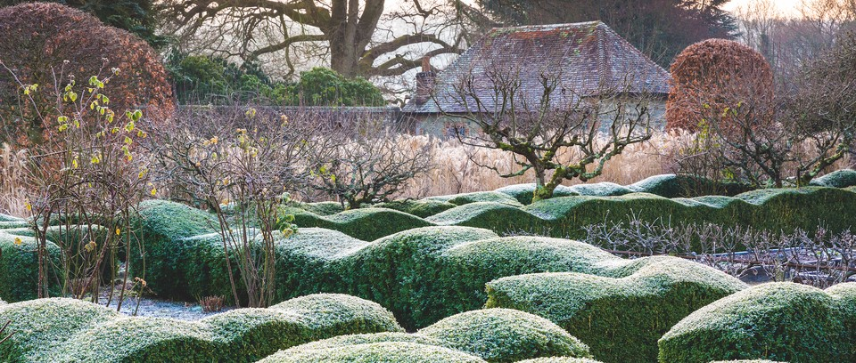 Winter Garden With A Strong Beautiful Structure Gardens Illustrated