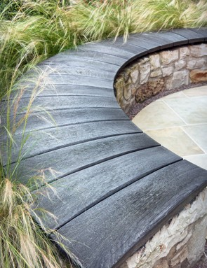 Carolyn Grohmann's small Edinburgh garden