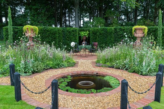 Baroque Garden, designed by Laurence Senior