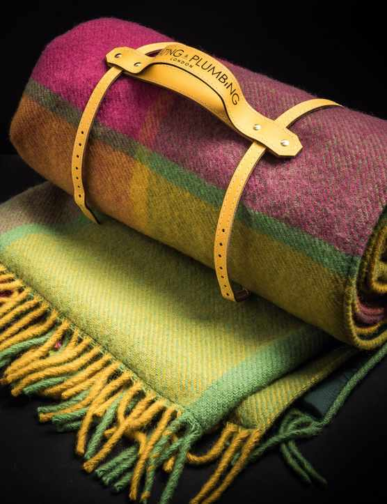 Pure New Wool Waterproof Picnic Blanket