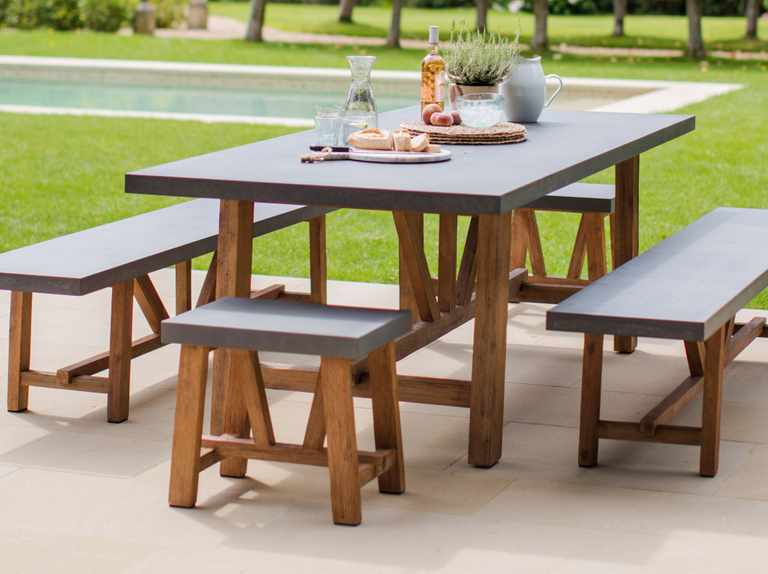 Prime Best Outdoor Dining Tables For Your Garden Gardens Illustrated Creativecarmelina Interior Chair Design Creativecarmelinacom