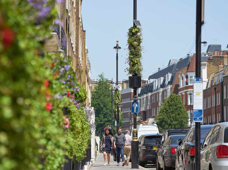 Could lampposts help air pollution?