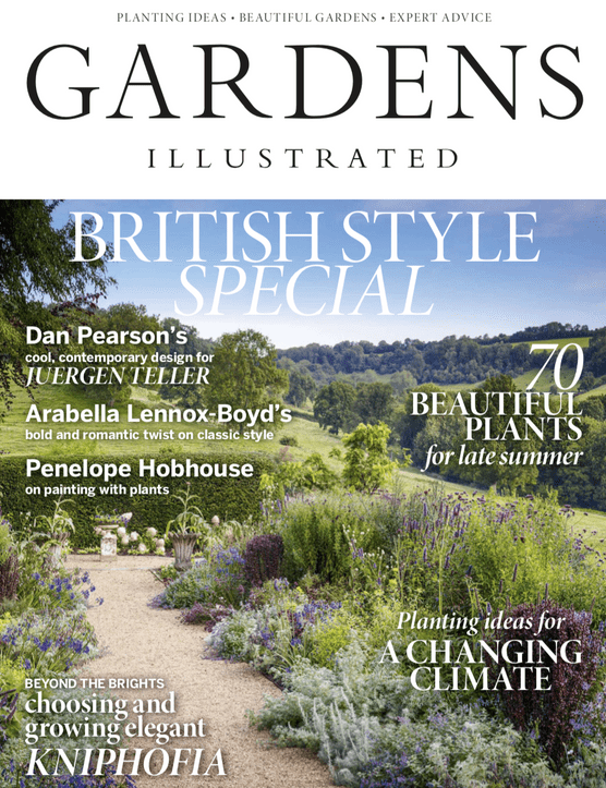 September cover of Gardens Illustrated
