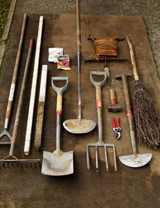 Having the right tools for the job, especially a good fork and spade, makes tree planting much easier.