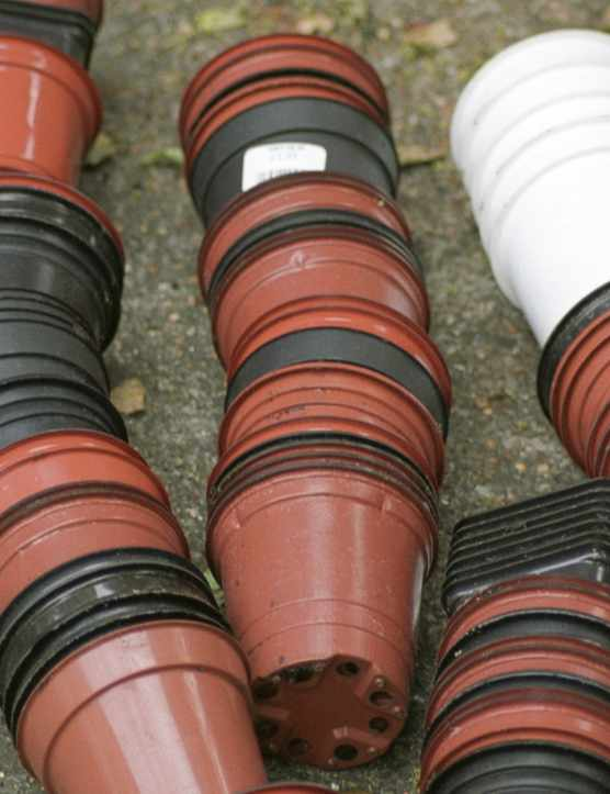 Millions of plastic pots go into landfill each year.
