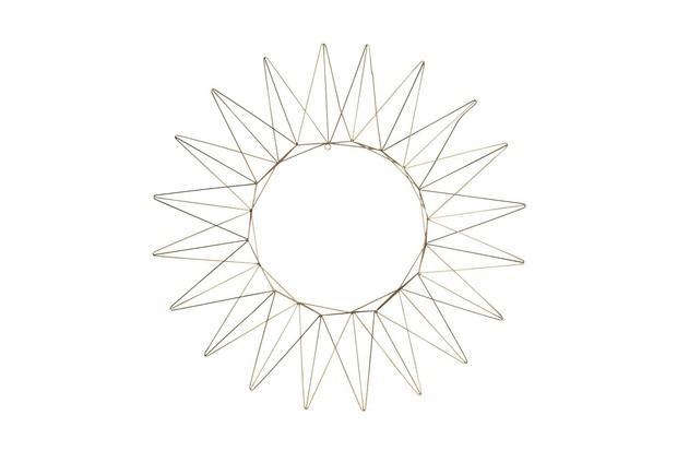 Crocus Talini Brass Wire Wreath