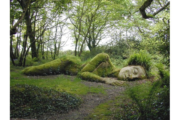 Mud Maid at The Lost Gardens of Heligan