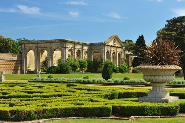 Holkham Hall private garden tour