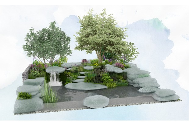 Bible Society - The Psalm 23 Garden, designed by Sarah Eberle