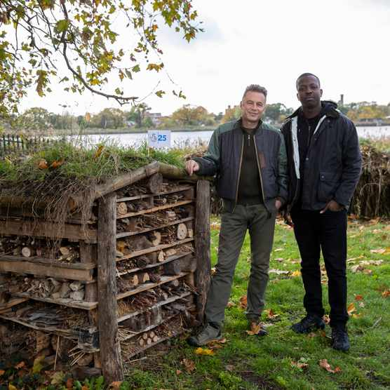Chris Packham CBE and Jamal Edwards MBE have joined forces to show how people can do their bit to help wildlife
