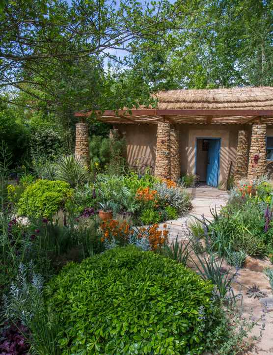 Sentebale – Hope in Vulnerability, designed by Matt Keightley at the RHS Chelsea Flower Show 2015.