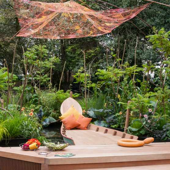 Viking Cruises Mekong Garden designed by Sarah Eberle at RHS Chelsea Flower Show 2016