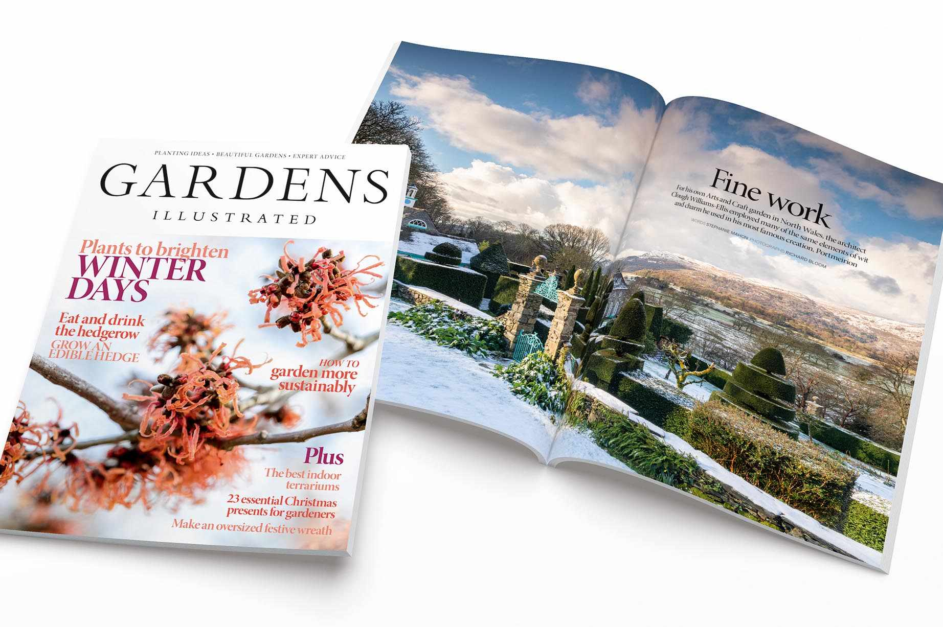 Gardens Illustrated's December issue