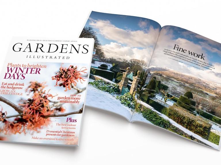 Gardens Illustrated magazine goes plastic wrap free