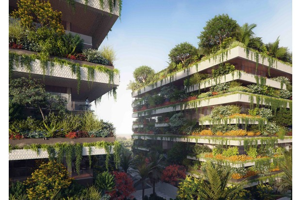 The green plans for Stefano Boeri Architects
