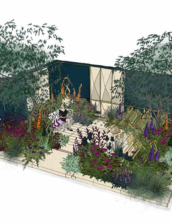 The Amaffi Garden, designed by Tamara Bridge & Kate Savill-Tague