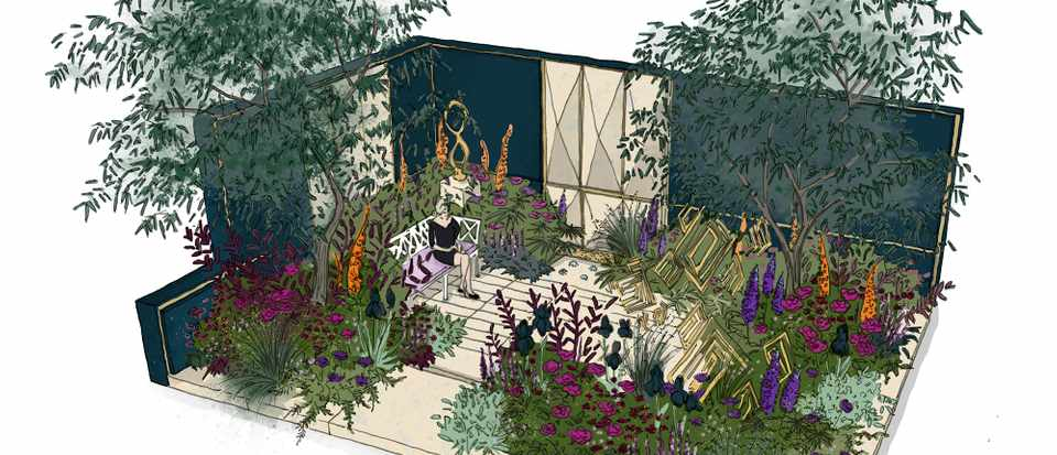 The Amaffi Garden, designed by Tamara Bridge & Kate Savill-Tague