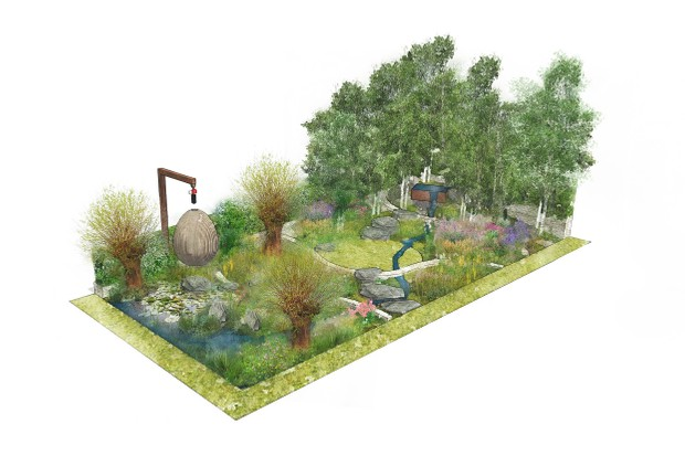 The Yeo Valley Organic Garden, designed by Tom Massey