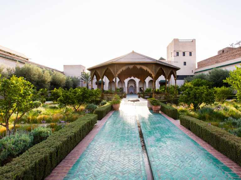 Tom Stuart-Smith on Le Jardin Secret in Marrakech