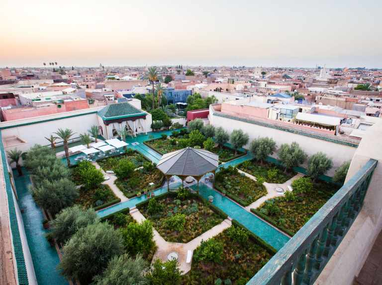 Le Jardin Secret: an Islamic garden in the heart of Marrakech