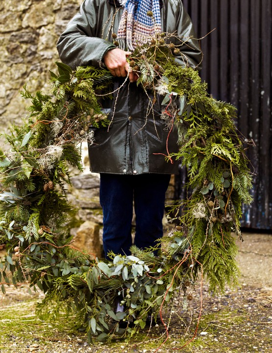 The resulting wreath
