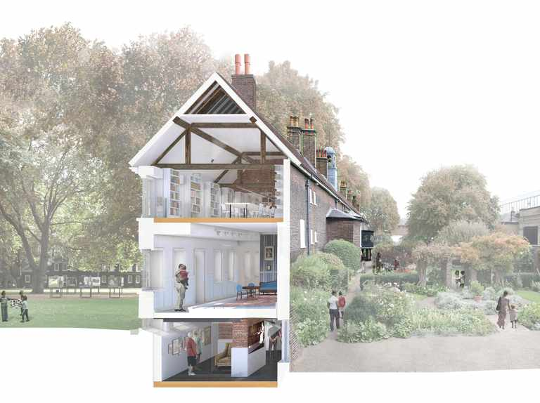 Geffrye Museum of the Home to open newly planted gardens in 2020