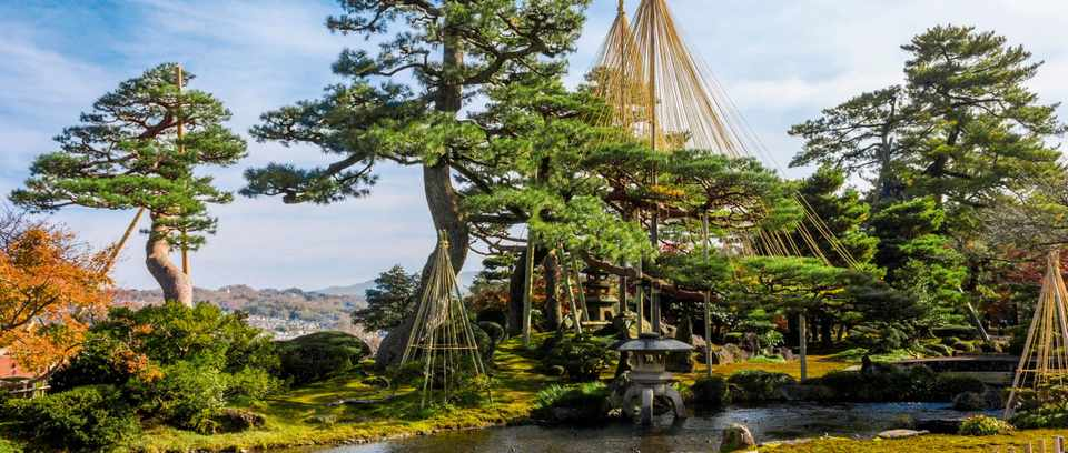 Kenroku en garden, Kanazawa