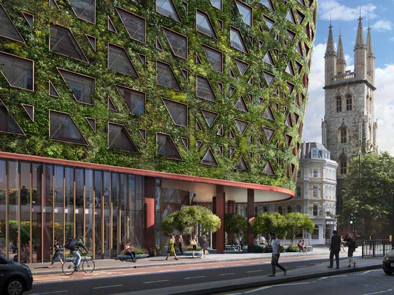Proposed London hotel to take new approach to planting