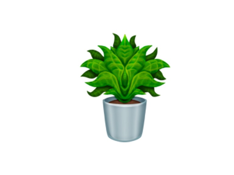 There's a new potted plant emoji